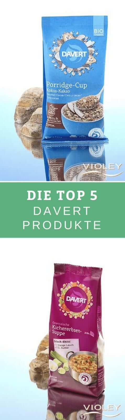 Davert vegane Produkte