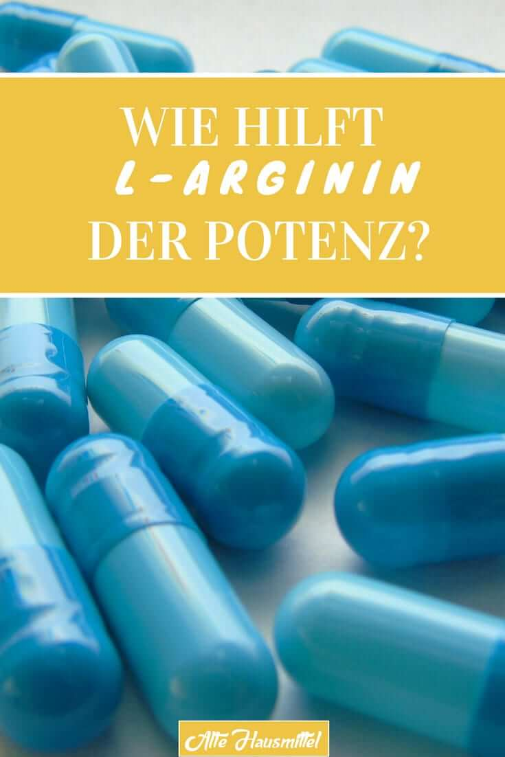 Wie hilft L-Arginin der Potenz
