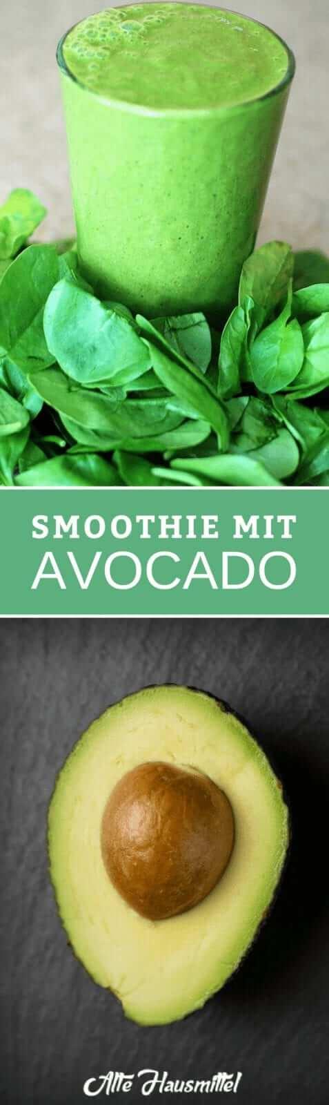 Smoothie mit Avocado