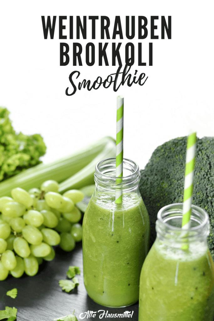 Weintrauben brokkoli smoothie