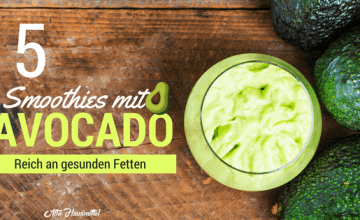 smoothies mit avocado
