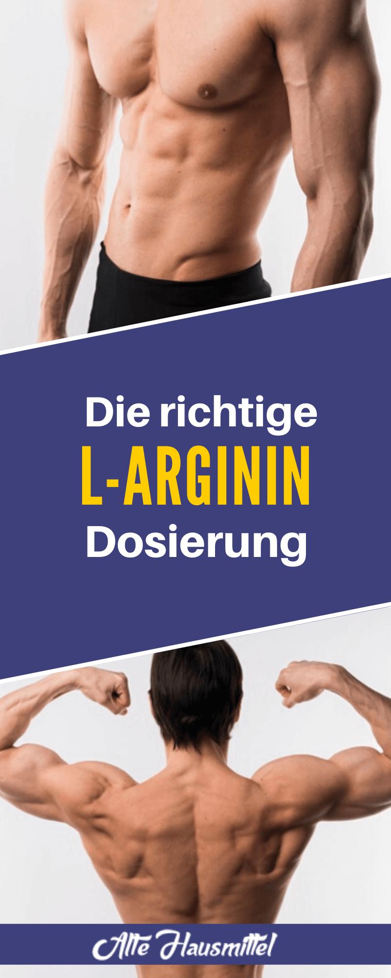 Die richtige L-Arginin Dosierung