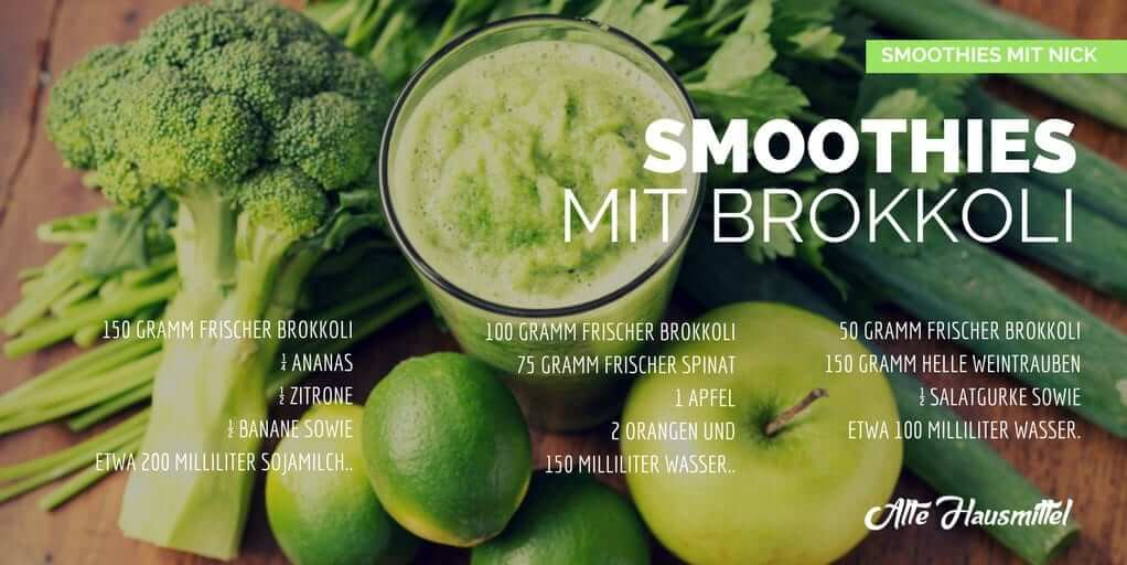 Brokkoli Smoothies