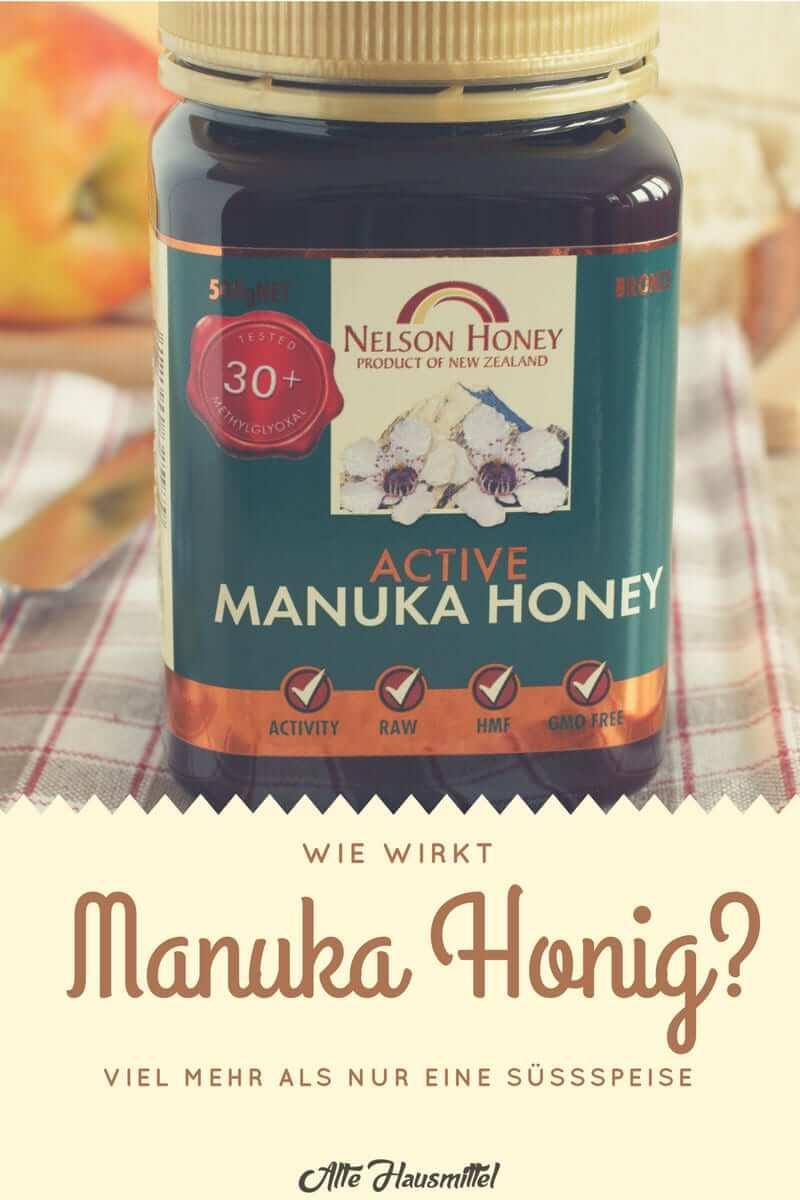 Titelbild des Beitrags über die Wirkung von Manuka Honig