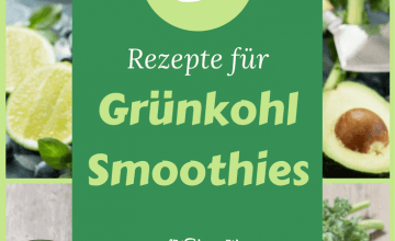 Smoothie mit Grünkohl