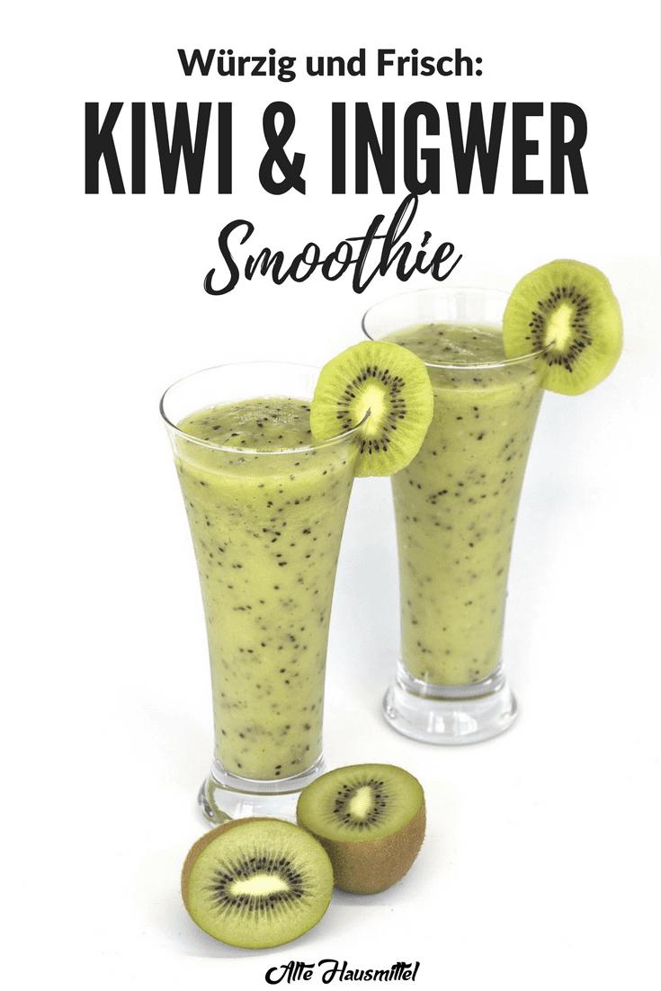 kiwi und ingwer smoothie