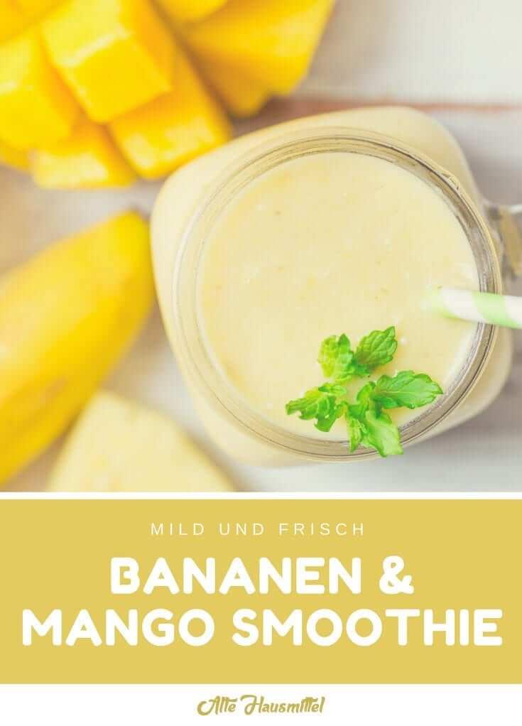 Bananen Mango Smoothie