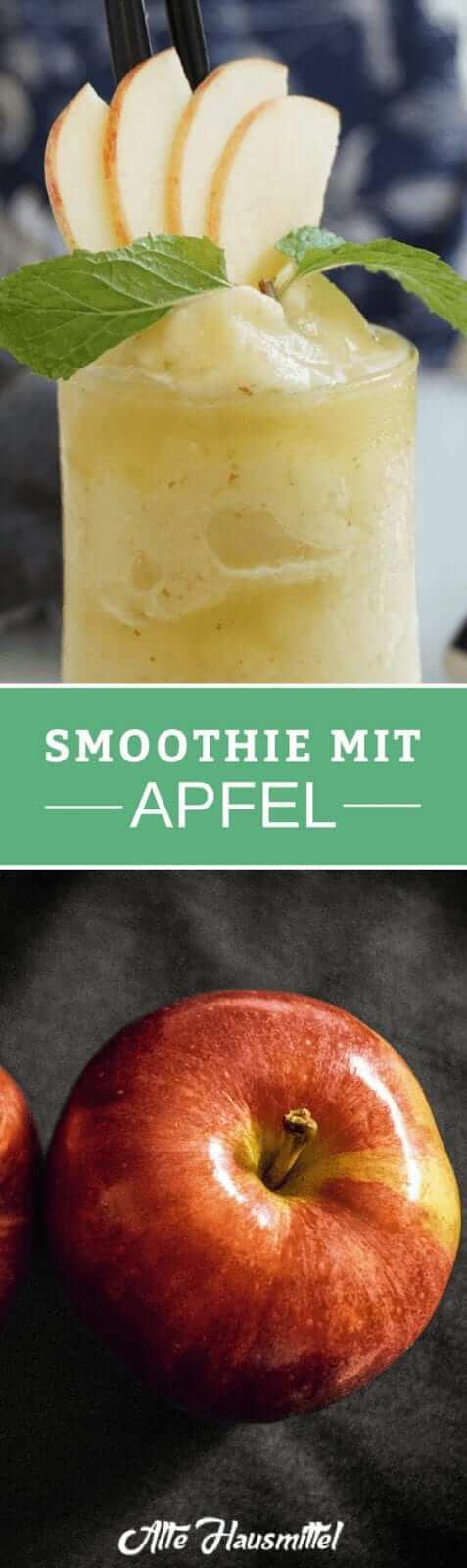 Smoothie mit Apfel