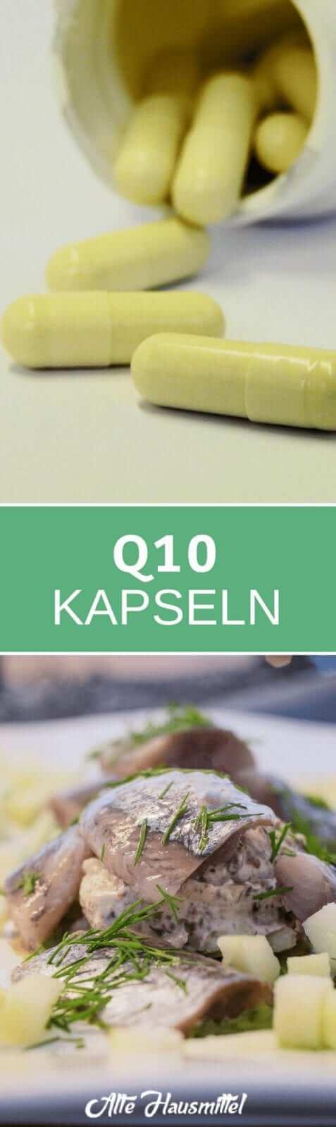 Q10 Kapseln als Anti Aging & Antioxidationsmittel