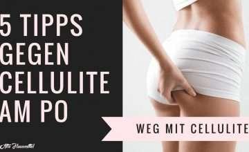 Tipps gegen Cellulite am Po