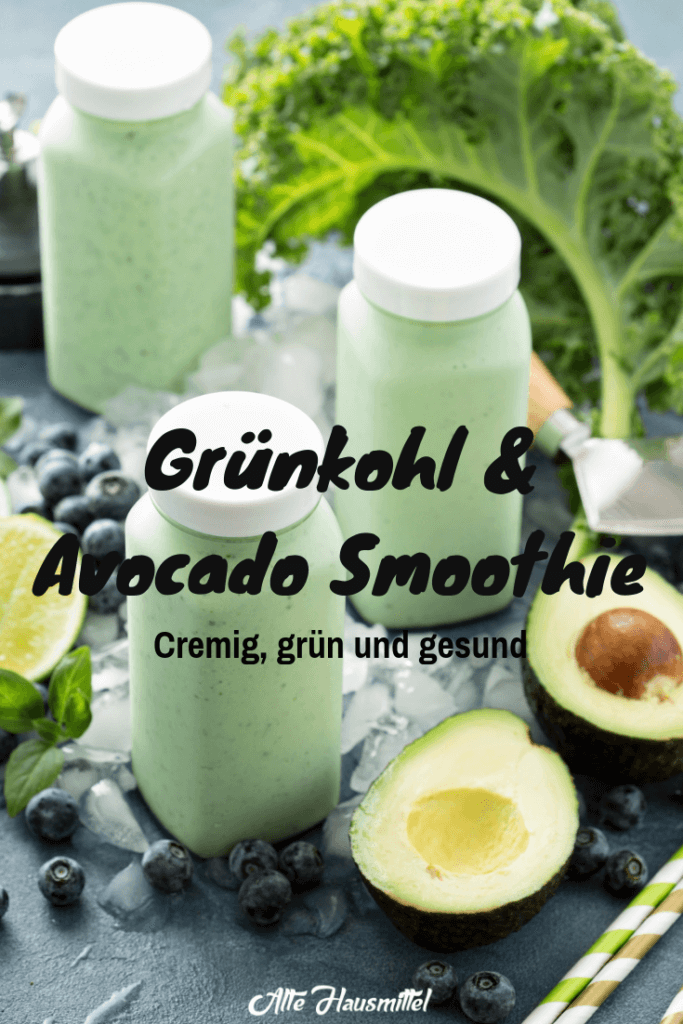 Grünkohl & Avocado Smoothie