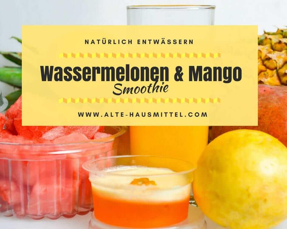 Wassermelonen Mango Smoothie