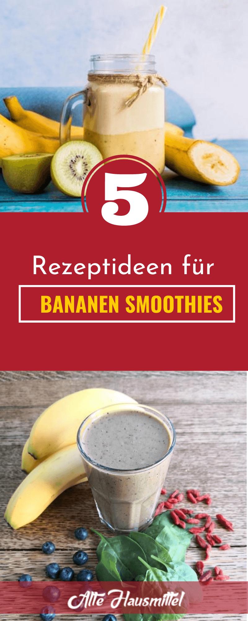 Smoothie mit Banane