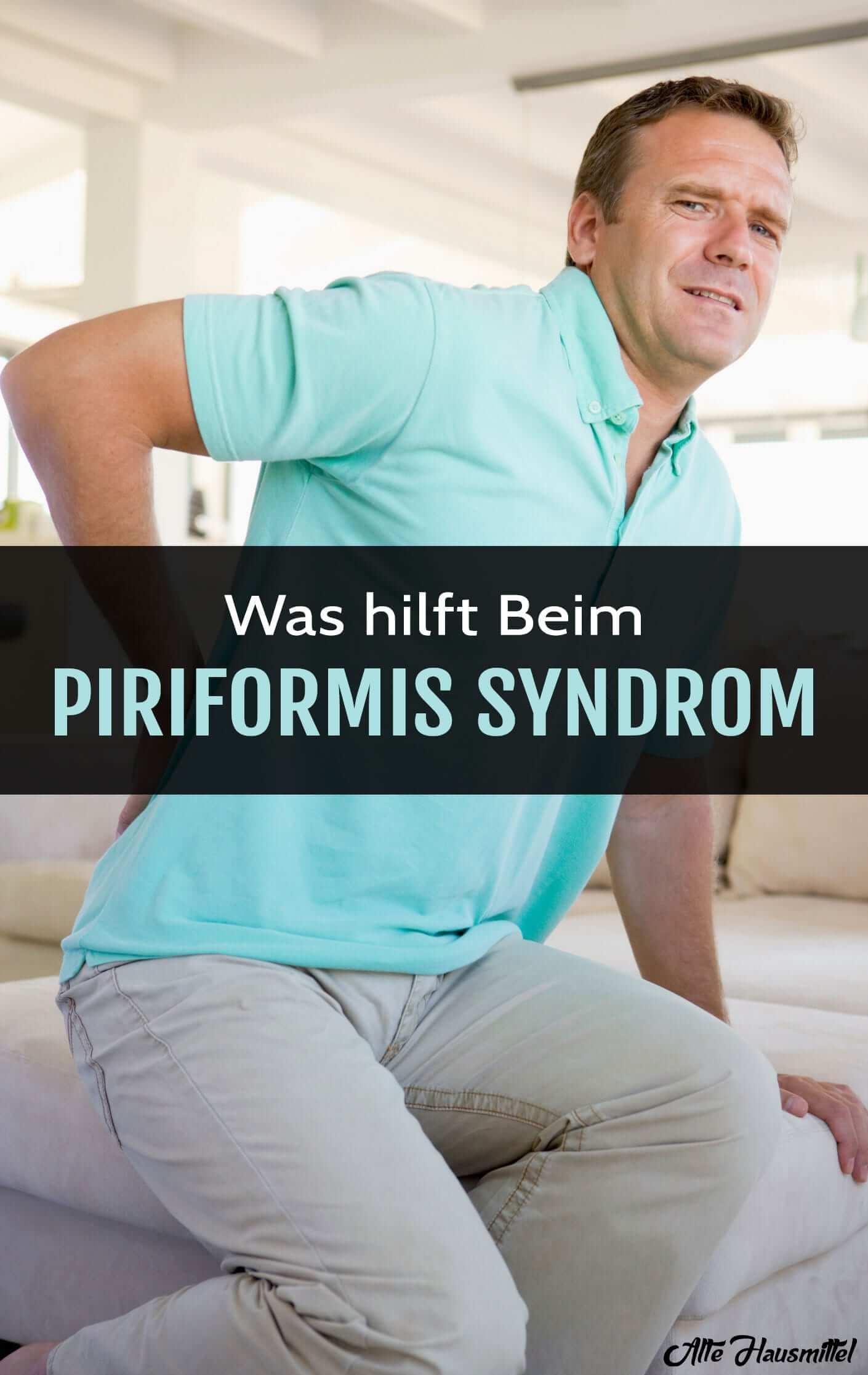 Piriformis Syndrom vorbeugen