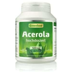 Greenfood Acerola Kapseln