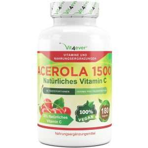 Vit4Ever Acerola Vitamin C Kapseln