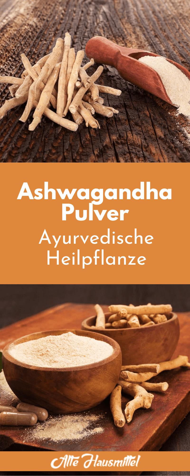 Ashwagandha Pulver - Ayurvedische Heilpflanze