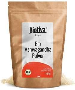 Biotiva Bio Ashwagandha Pulver