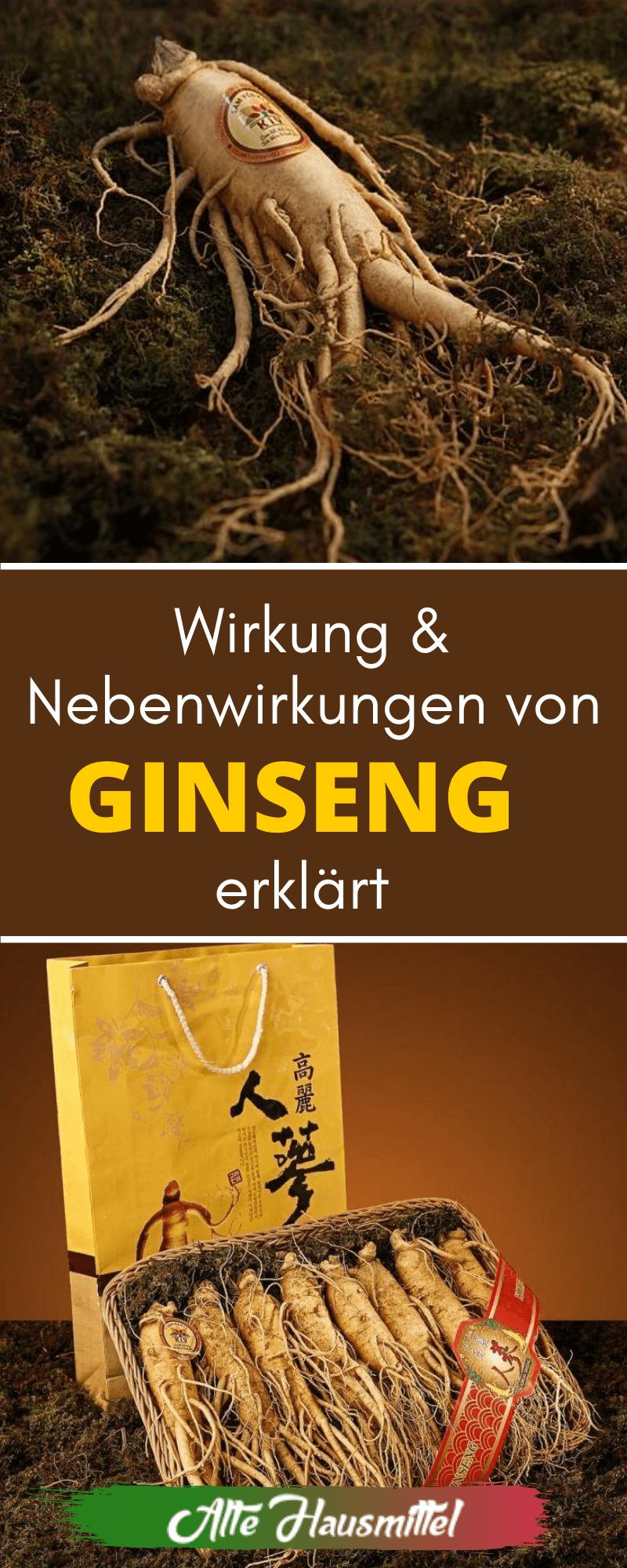 Wirkung & Nebenwirkungen von Ginseng erklärt
