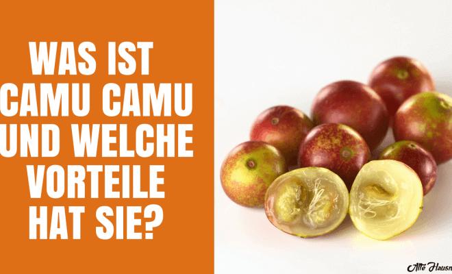 Camu Camu kapseln