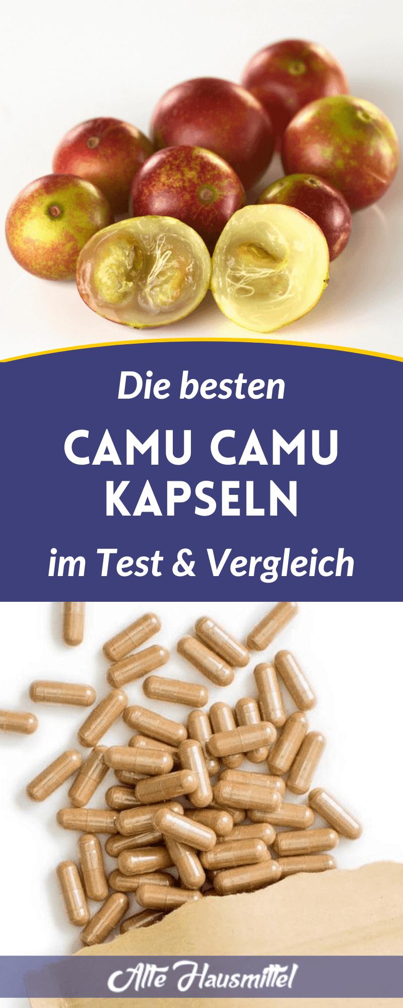 Die besten Camu Camu Kapseln im Test & Vergleich