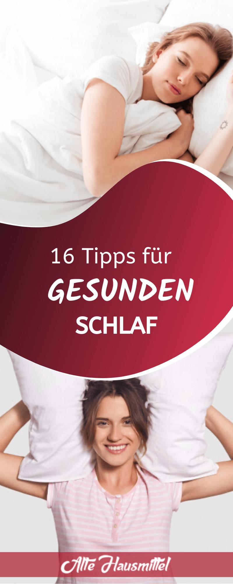16 Tipps für gesunden Schlaf