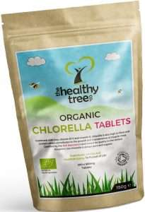The Healthy Tree Chlorella Tabletten