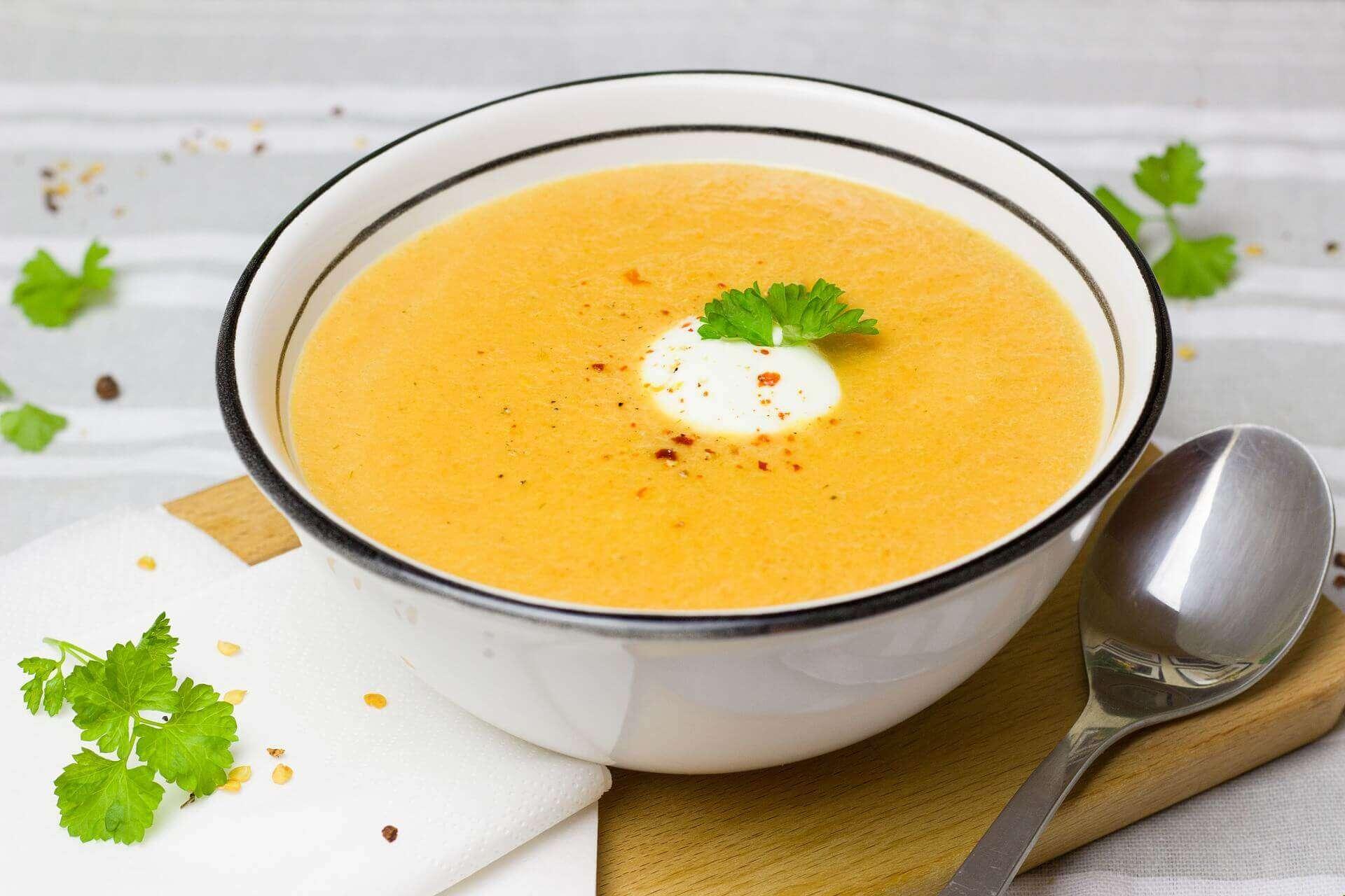 Ingwer-Suppe gegen Erkältung