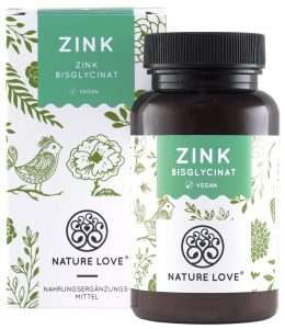 Natural love Zink Tabletten