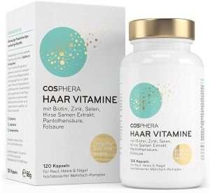 Die 5 besten Haar Vitamine im Vergleich