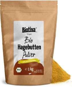 Hagebuttenpulver BIO (1kg) von Biotiva