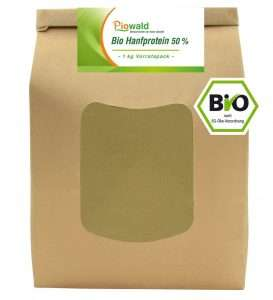1kg Bio Hanfprotein von Piowald
