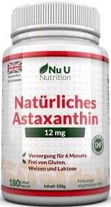 Astaxanthin 12mg von Nu U