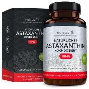Astaxanthin 18mg von Nutravita