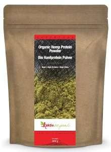 BIO Hanfprotein Pulver von Aktiv Organic