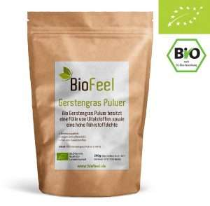BioFeel Bio Gerstengraspulver 200g