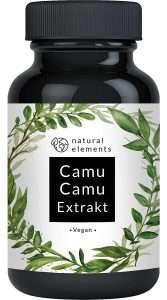 Natürliches Vitamin C Camu-Camu Kapseln von natural elements