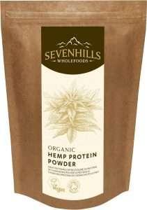 Roh Hanf-Proteinpulver von Sevenhills Wholefoods