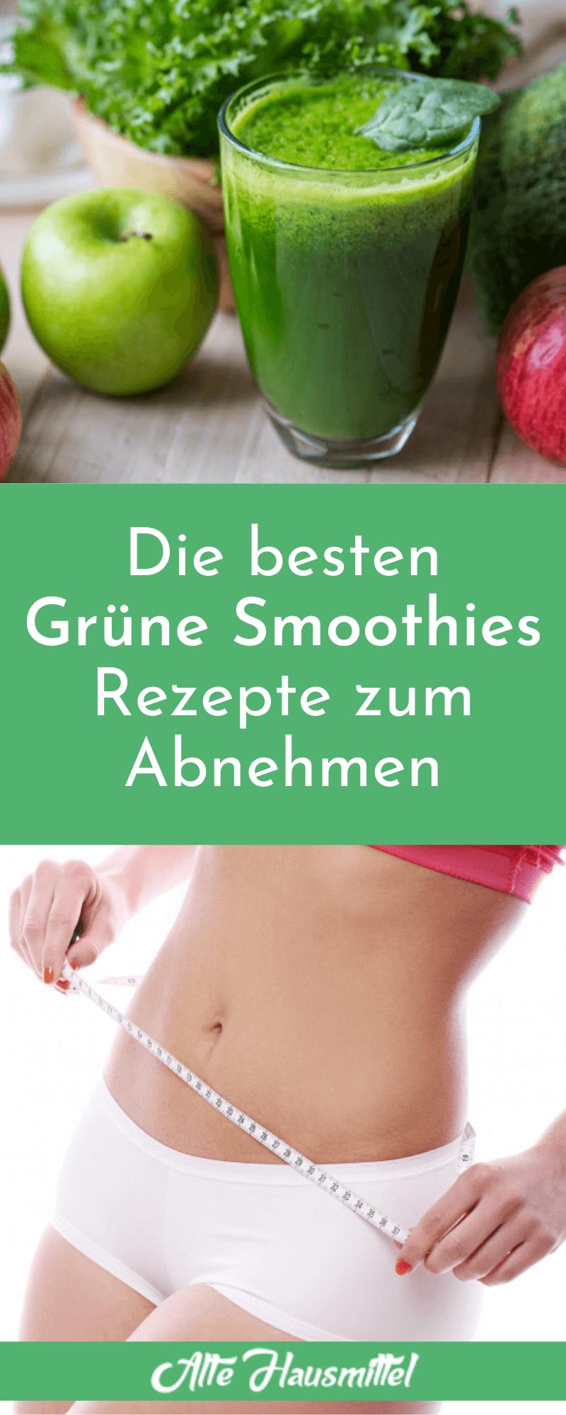 Die besten Grüne Smoothies Rezepte zum Abnehmen